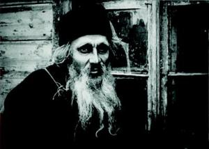 Fra filmen Fader Sergius - 1917.